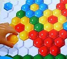 Мозаика для детей, игры с мозаикой